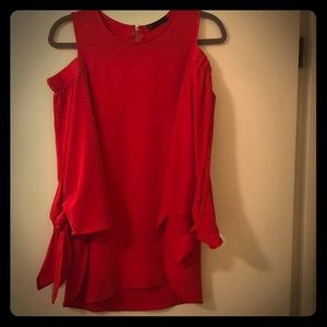 Gibson top from Nordstorm in red saucy.